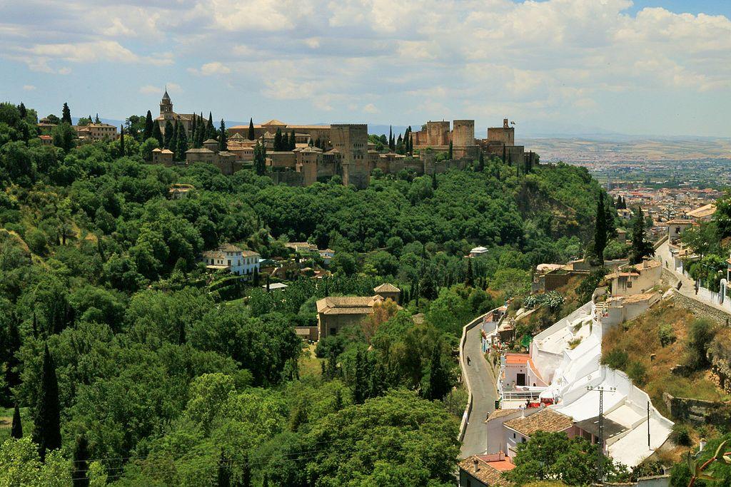 Die Stadt Granada