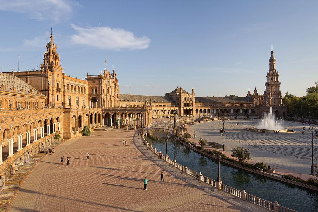 Die Stadt Sevilla