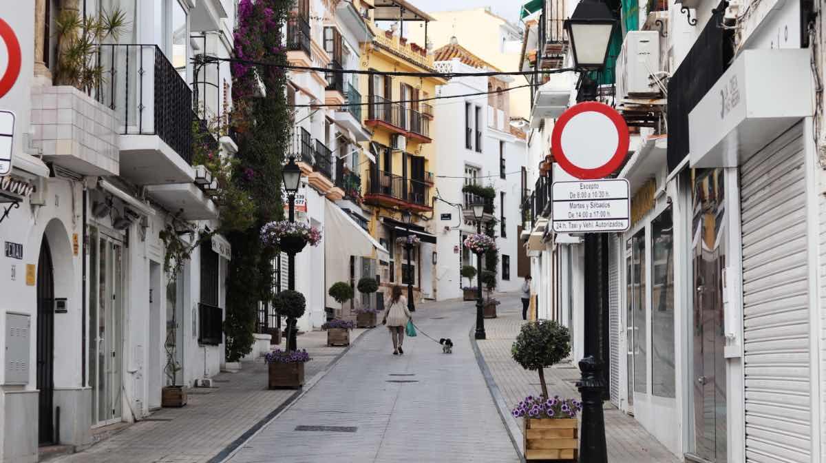 Shutdown Spanien