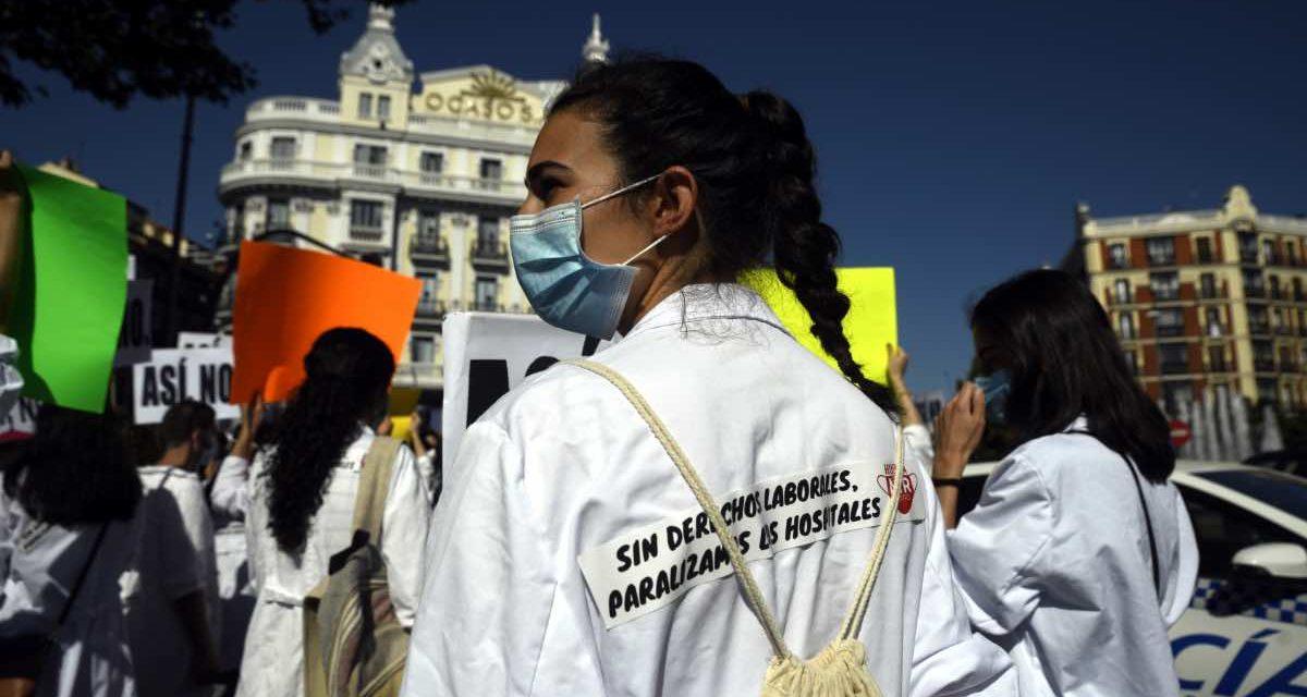 Madrids Ärzte wollen wegen Corona-Krise die Arbeit niederlegen