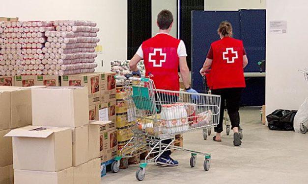 Rotes Kreuz Canarias sammelt über elfausend Kilogramm Nahrungsmittel für bedürftige Familien