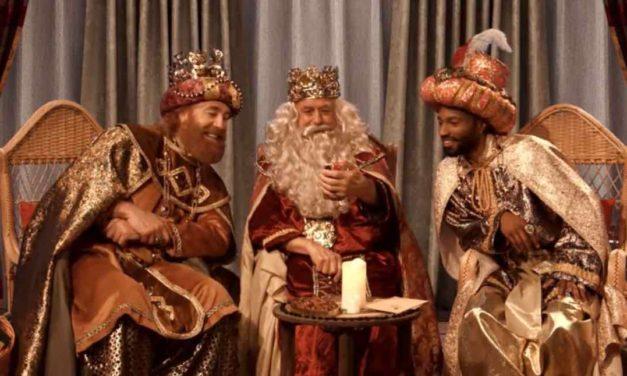 Strahlende Kinderaugen: Videoanruf von den Heiligen Drei Königen