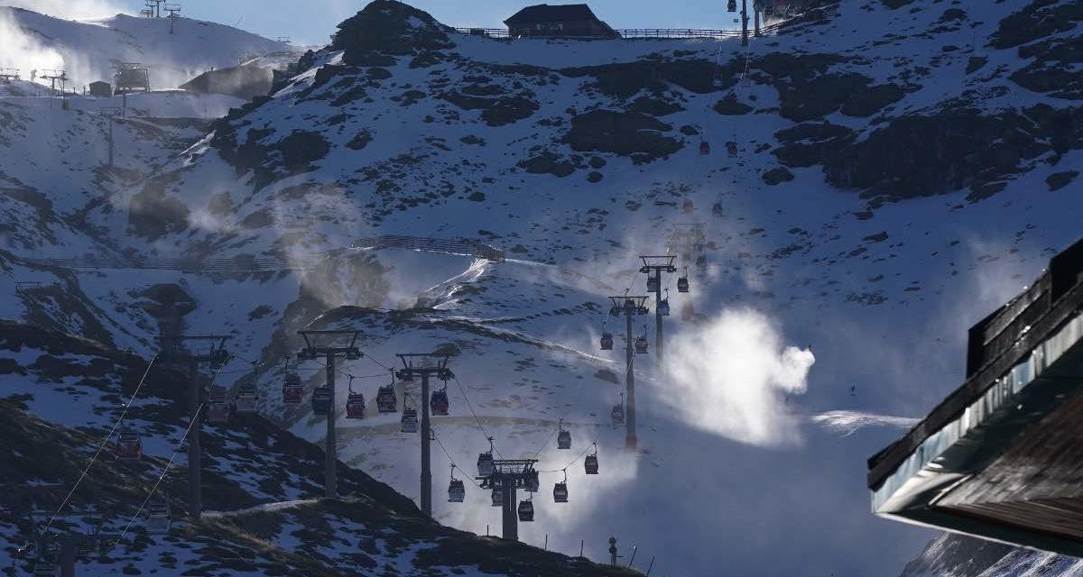 Windböen von bis zu 120 Kilometern verhindern die Öffnung der Sierra Nevada