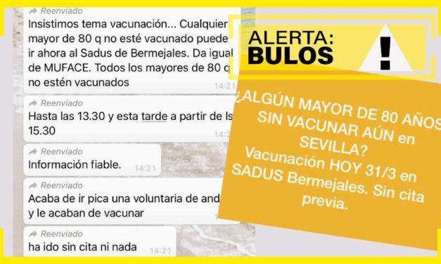 """Falschmeldung (""""Bulo"""") sorgt für Schlangen vor dem Impfzentrum"""