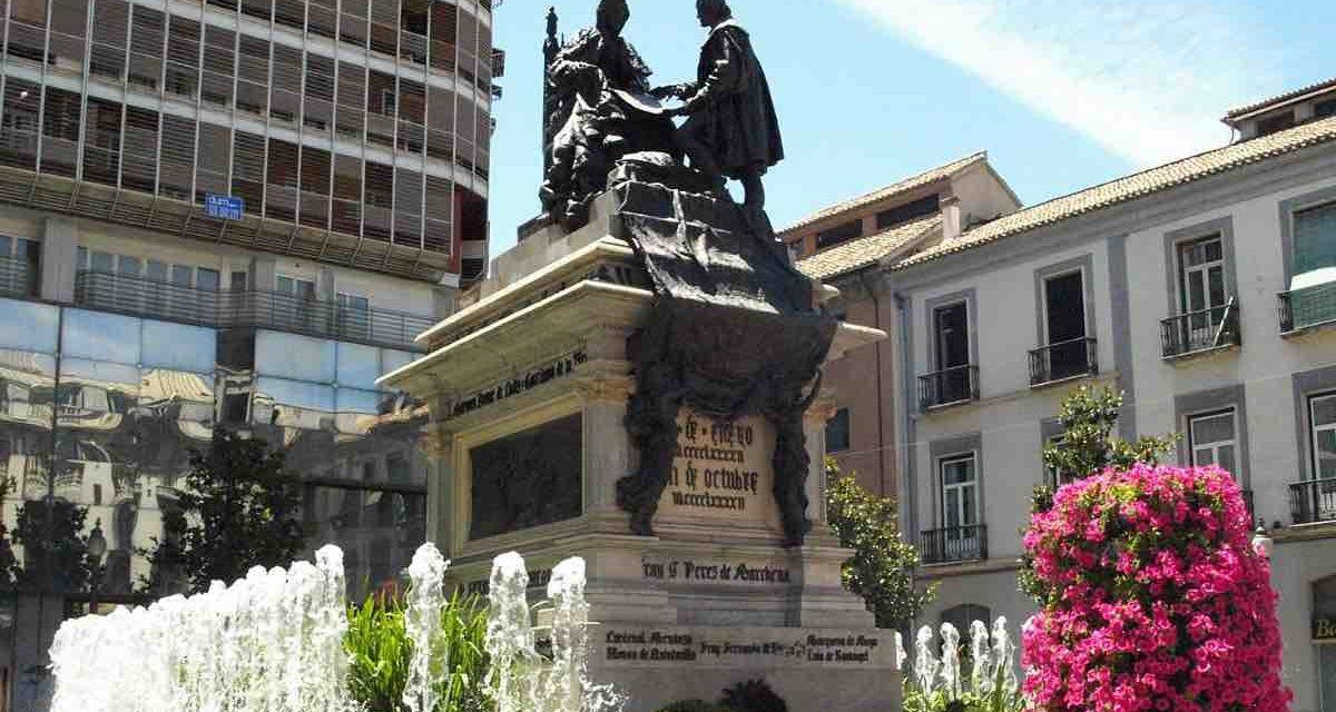 Protest gegen den Kolumbus-Tag in Granada